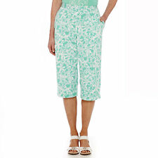 Alfred Dunner Acapulco Print Capris Size 16 Msrp $48.00 New