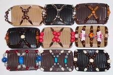 Double Magic Mini Hair Combs, African Style Butterfly Clips, Colorful Beads, MC2