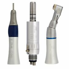 NSK Dental Slow Speed Air Motor Contra Angle Straight Handpieces Kit EX203C