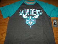 CHARLOTTE HORNETS NBA UNK MENS SHORT SLEEVE SWEATSHIRT/SHIRT