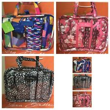 NWT Vera Bradley 4PC Cosmetic Makeup Organizer Case Bag Travel Set Gift