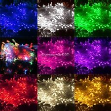 100LED 10M Chaser String Fairy Lights Indoor Outdoor Xmas Party Wedding Light NC