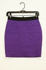 NWT BCBG MAX AZRIA STRETCH MINI SKIRT SIZE XS (US 2)