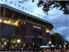 Texas A&M Aggies Kyle Field Football Stadium Postcard