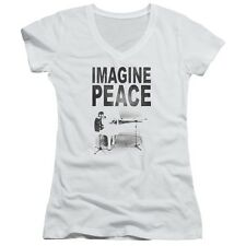 John Lennon Beatles Imagine Peace Juniors T Shirt