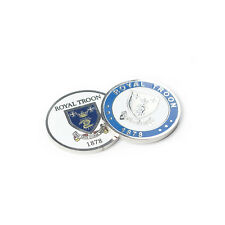 ROYAL TROON DOUBLE SIDED BALL MARKER - Official Merchandise