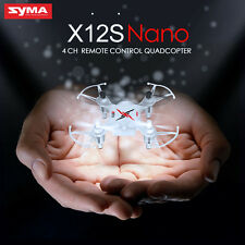 UFO Syma X12S Nano Quadcopter  2.4GHz RC 6-Axis Drone Gyro Mini RTF Aircraft