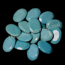 3x4mm to 10x14mm Natural Turquoise Oval Cut Calibrated Size Top Quality Gemstone