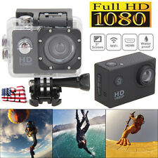 2.0'' LCD 1080P Full HD Waterproof DV Action Sports Camera Video Camcorder USPS