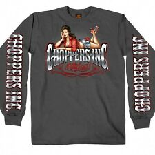 Official Billy Lane Choppers Inc Pinup Relax Long Sleeve