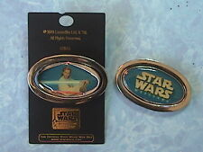 OB1 WAN STAR WARS WEEKEND PIN 2003  LE SPINNER DISNEY WDW PINS NEW