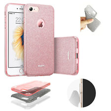 Multi Layer Shiny Glitter Sparkling Back Case cover for iphone 6/7/S/Plus, Rose
