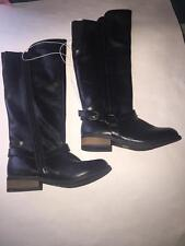 Girls Cherokee Rosalie Boots Black Size 13T or 5 Girls NEW