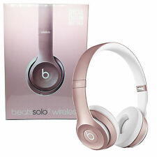 BEATS BY DR. DRE SOLO 2 WIRELESS HEADPHONES ROSE GOLD & GOLD - SEALED