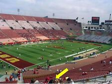 2 USC TROJANS vs TEXAS LONGHORNS 9/16/17- LOWER CORNER SECTION 11 - ROW 31