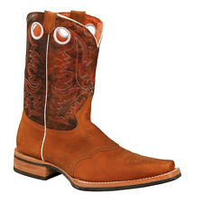 New Mens Tan Rodeo Collection Western Cowboy Boots BONANZA 4001 Size 6-12 (D, M)