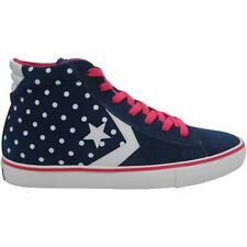 New-Converse-Chuck-Taylor-All-Star-Women's Blue with White stars Sneakers-139695
