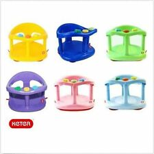 Keter Baby Bath Seat Ring Safety Infant Tub Chair COLORS FREE FAST SHIPPING!