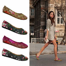 WOMENS SHOES LADIES FLATS BALLERINA BALLET CASUAL GIRLS PUMPS DANCE SHOES NEW