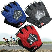 Cycling gloves Outdoor Mesh Breathable nylon gloves Bike Bicycle Mountain Bike