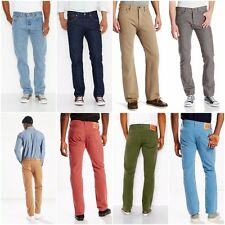 NEW LEVI'S MEN'S 501 ORIGINAL FIT BUTTON FLY JEANS ALL SIZES NEW COLORS NWT