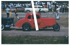 1960s Drag Racing-C/Altered 1934 Ford Coupe-1st INDY NHRA U.S.Nationals-1961
