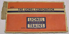 Lionel Postwar X6454 Boxcar Original Flattened BOX ONLY #2 - Missing All Flaps