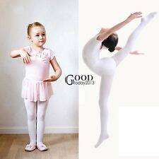 New Children Girls High Elastic Stockings Dance Footed Tights Pantyhose TXGT