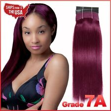 #99J (Burgundy) 100g - Yaki Weaving / 100% Virgin Human Hair Straight