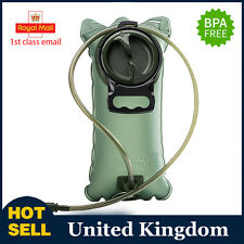 2L Hydration Bladder Bag Hiking Sports Camping Backpack Water Drinking Pouch PT