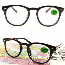 BIFOCAL READING GLASSES INNER BIFOCAL RETRO ROUND SPECS 150~275 SPRING HINGE
