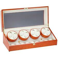 Diplomat Estate Collection Eight (8) Watch Winders w/ Storage for 9 Watches