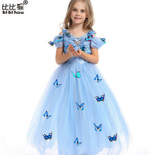 Girl Dresses Cinderella Dress Costume Princess Party Dresses Girls Christmas ...