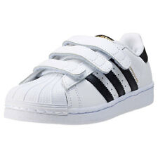 adidas Superstar Foundation Toddler Trainers White Black New Shoes