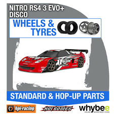 HPI NITRO RS4 3 EVO+ [DISCONTINUED KITS] [Wheels & Tyres] Genuine HPi 1/10 R/C