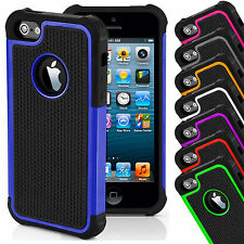 Shock Proof Outer Box Rubber Hybrid Matte Hard Case Cover For Apple iPhone 4 4s
