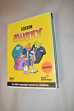 BBC MUZZY SPANISH DVD LANGUAGE COURSE WITH LEARNING BOOK