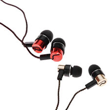 New Ear Headphone Roping Earbud Earphone Metal Stereo Subwoofer MP3/Mp4 3.5mm