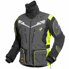 Rukka Orivesi Gore-Tex Textile Motorcycle Motorbike Jacket - Grey Yellow