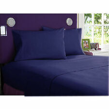 "1000 Thread Count Navy Blue-Bedding Sheets Collection ""100%Egyptian Cotton"""
