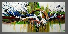 Abstract Oil Painting on Canvas Handmade Animal Wall Art for Home Decor Framed