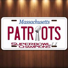 New England PATRIOTS NFL Superbowl 51 LI Champions Novelty License Plate Tag