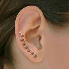 Ear Sweeps Pins Vines Earrings Gold or Silver with Gemstones or Beads #257