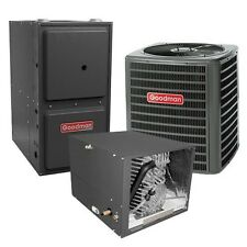 2.5 Ton 13 SEER 92% AFUE Gas Furnace Air Conditioner Condenser System Horizontal