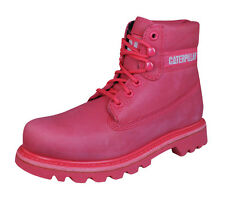 """Caterpillar Colorado Womens 6"""" Leather Boots - Pink"""