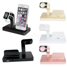 Apple Watch Stand Bracket Charging Dock Station Charger Holder for iWatch iPhone