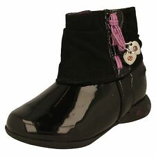 Girls Clarks First Ankle Boots With Lights - Dolly Mixture