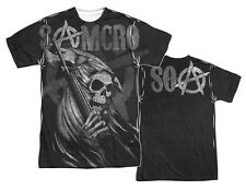 """Sons Of Anarchy """"Samcro Reaper"""" Dye Sublimation T-Shirt or Tank"""