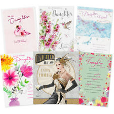 Daughter Daughter in Law Stepdaughter Happy Birthday Card Greeting Cards