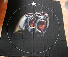 GIVENCHY Monkey Brothers printed wool & silk blend large scarf